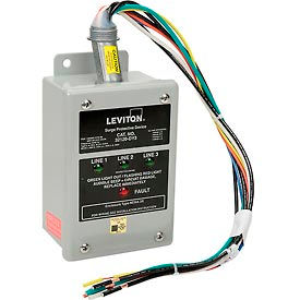 Leviton 32120-DY3 3-Phase Branch Panel Mount Surge Protection Device