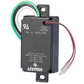 Leviton 3800-OEM Equipment Cabinet Spd Surge Protection Device, W/ Pigtails - Min Qty 4
