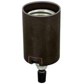 Leviton 4063 Medium Base, Two-Piece, Candle Sockets, Incandescent Lampholder - Min Qty 17