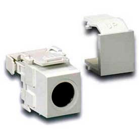Leviton 40734-Svg Quickport 110-Type To Female S-Video, Grey - Min Qty 15