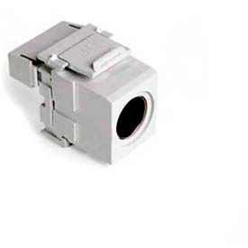 Leviton 40734-Svt Quickport Snap-In (Female) S-Video To 110 Module - Min Qty 15