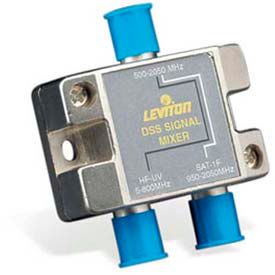 Leviton 40856-Dss Dss 75 Ohm And 2.0ghz Combiner, Gold Plated - Min Qty 13