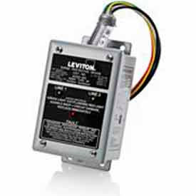 Leviton 42120-DY3 3-Phase Branch Panel Mount Surge Protection Device