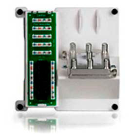Leviton 47603-Dp6 Compact Series: 1 X 4 Combo Bridged Ph1/Data Board/6-Way Video Splitter-Min Qty 2