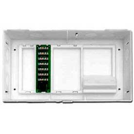 Leviton 47604-F6 Mdu Kit Plus 1 By 6 Telephone Expansion Board, White - Min Qty 4