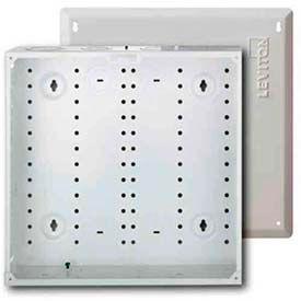 Leviton 47605-140 Smc 140 Structured Media Enclosure With Cover, White - Min Qty 4