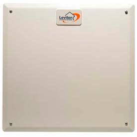 Leviton 47605-14b Series 140 Structured Media Flush Mount Cvr. 6 Cvr.s Per Bulk Box, Wht-Min Qty 11