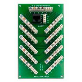 Leviton 47609-S10 1 X 10 (6-Line) Bridged Telephone Expansion Board - Min Qty 4