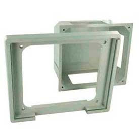 Leviton 47617-Rbh Recessed Entertainment Box Includes High Profile Cover, White - Min Qty 5