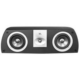 "Leviton AECCS-VCE JBL Dual 5"" Woofer Two-Way Shelf-Mount Center Channel Loudspeaker, Black"
