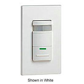 Leviton Ods10-Idt Decora Passive Infrared Wall Switch Occupancy Sensor, Light Almond - Min Qty 3