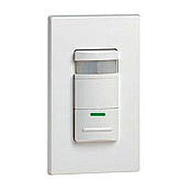 Leviton Ods15-Idw Decora Passive Infrared Wall Switch Occu Sensor, Self-Adjusting, Wht-Min Qty 3