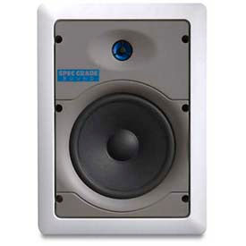 "Leviton Sgi65-00w 6.5"" Two-Way In-Wall Loudspeaker, White - Min Qty 2"