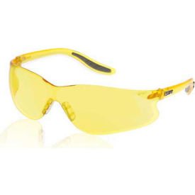 Sectorlite Safety Glasses, Bulk Packaged, Yellow