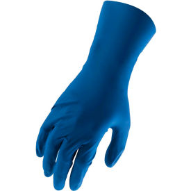 Lift Safety Ni-Flex Industrial Grade Nitrile Gloves, Blue, L, 50 Gloves/Box