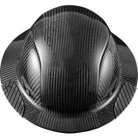Lift Safety HDC-15KG Dax Carbon Fiber Hardhat, 6-Point Suspension, Black by