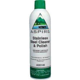Misty® Aspire Stainless Steel Cleaner & Polish, 20 Oz. Can 12/Case - AEPA14620