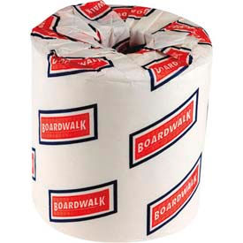 Boardwalk 2-Ply Bathroom Tissue, White 500 Sheets/Roll, 96 Rolls/Case - BWK6180