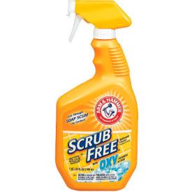 Arm & Hammer Scrub Free Bathroom Cleaner W/ Oxy Clean Lemon, 32 Oz. Trigger 8/Case - CHU3320035255