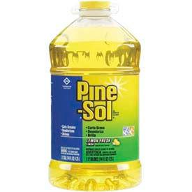 Pine-Sol® All-Purpose Cleaner Lemon Scent, 1.125 Gallon 3/Case - COX35419CT
