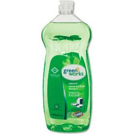 Green Works Manual Pot & Pan Dish Liquid Original, 38 Oz. Squeeze Bottle 8/Case - COX30381CT