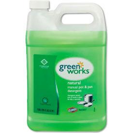 Green Works Manual Pot & Pan Dish Liquid Original, Gallon Bottle 4/Case - COX30388CT