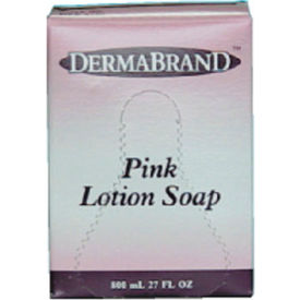 Boardwalk Mild Cleansing Lotion Soap Pleasant Scent, Pink 800mL Box 12/Case - BWK8100CT