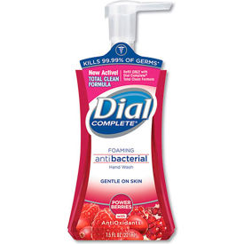 Dial Complete Antimicrobial Foaming Hand Soap Power Berry, 7.5 Oz. Pump 8/Case - DPR03016CT