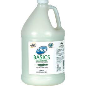 Dial Basics Hypoallergenic Liquid Soap, Rosemary & Mint, Gallon Bottle 4/Case - DPR06047