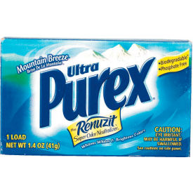 Purex® Ultra Concentrated Powder Detergent, 1.4 Oz. Vend Box 156/Case - DPR10245
