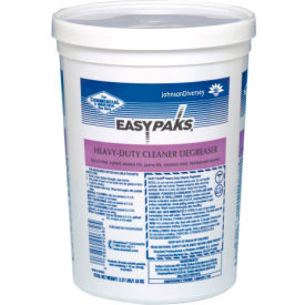 Diversey Heavy-Duty Cleaner/Degreaser, 36 1.5 oz. Packets/Tub, 2 Tubs - 990682