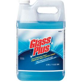 Glass Plus Glass Cleaner Floral, Gallon Bottle 4/Case - DRA94379