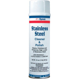 Dymon Stainless Steel Cleaner & Polish, 12/Case - ITW20920