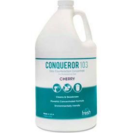 Conqueror 103 Odor Counteractant Concentrate Cherry 32 Oz. Bottle 12/Case - FPI1232WBCH