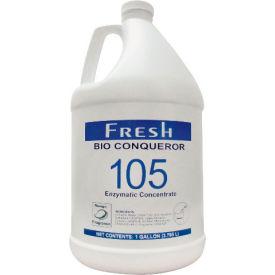 Bio Conqueror 105 Enzymatic Odor Counteractant Concentrate Mango, Gallon Bottle 4/Case - FPI1BWBMG