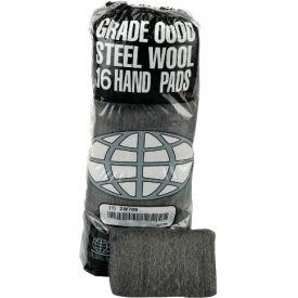 Industrial-Quality Steel Wool Hand Pads - #0 Medium Fine