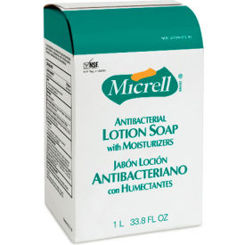 Micrell NXT Antibacterial Lotion Soap Refill Balsam Scent, 1000mL Pouch 8/Case - GOJ215708CT