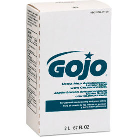 Gojo Antimicrobial Lotion Soap W/ Chloroxylenol Refill, 2000mL 4/Case - GOJ2212