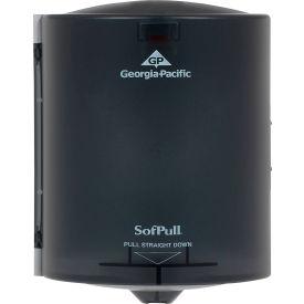 "SofPull Center-Pull Hand Towel Dispenser 9-1/4"" x 8-3/4"" x 11-1/2"", Smoke - GEP58204"