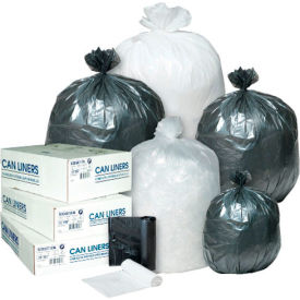 "High-Density 12 to 16 Gallon Can Liners - 24"" x 33"""