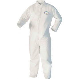 Kleenguard® A40 Liquid & Particle Protection Coverall 44303, White, L, 25/Case
