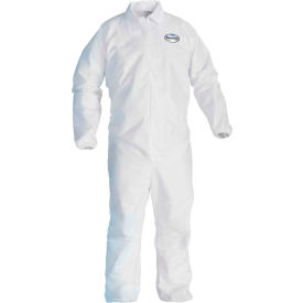 Kleenguard® A40 Liquid & Particle Protection Coverall 44314, White, XL, 25/Case