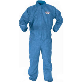 Kleenguard® A60 Bloodborne Pathogen & Chemical Splash Protection Coverall 45004, XL, 24/Case