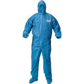 Kleenguard® A60 Bloodborne Pathogen & Chemical Splash Protection Coverall 45094, XL, 24/Case
