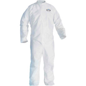 Kleenguard® A30 Breathable Splash & Particle Protection Coverall 46004, White, XL, 25/Case