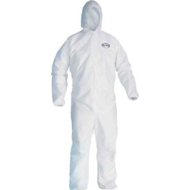 Kleenguard® A30 Breathable Splash & Particle Protection Coverall 46115, White, 2XL, 25/Case