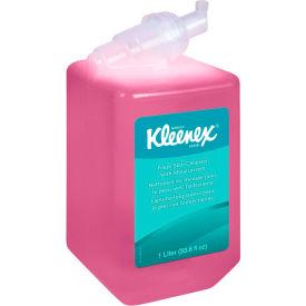 Kleenex Foam Skin Cleanser W/ Moisturizers Light Floral, 1000mL Cassette 6/Case - KIM91552CT