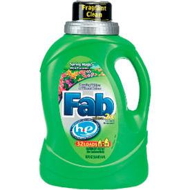 Fab® 2X HE Laundry Detergent Spring Magic, 50 Oz. Bottle 6/Case - PBC37060