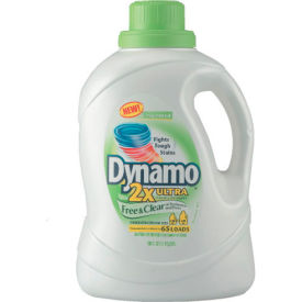 Dynamo® 2X Ultra Laudry Detergent Free & Clear, 100 Oz. 4/Case - PBC48116