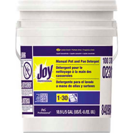Joy® Dish Washing Liquid Lemon, 5 Gallon Pail - PAG02301